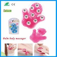Best 9 Stainless Steel Balls Anti-cellulite Glove Palm Handheld Body Slimming Roller Massage wholesale