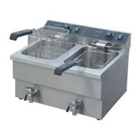 Buy cheap Freezing Equipments 12L*2 Counter top Electric 2-Tank Fryer(2-Basket) from wholesalers