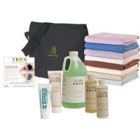 Bottles & Accessories Complete Your Massage Table Kit