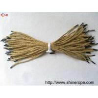 Braided,Twisted cord /rope/string jute rope lanyards