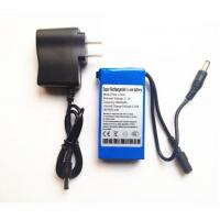 Best 12V Portable Rechargeable 3000mah li-ion battery with AC Charger for CCTV Camera wholesale