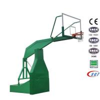 Quality Good electric hydraulic basketball stand set folding basketball hoop for sale wholesale