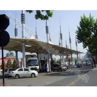 Best Security Space Frame Steel Structure Truss Purlin of Toll Station wholesale