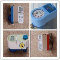 Best 20mm Residential RF Card Prepaid Water Meter With Noncontact System Management wholesale