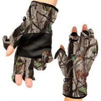 Best Authorized Forest Camo Hunting Gloves Anti Skid Finger Open for Hunters and Photographers wholesale