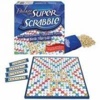 Tile Lock Super Scrabble Deluxe Edition by Winning Moves