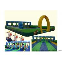 Best sports game inflatable horse racing wholesale