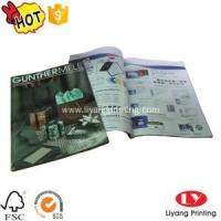 Best Magazine Softcover magazine,brochure printing with glossy lamination wholesale