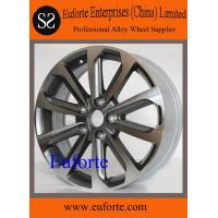 SA5119 / 16 and 17 inches gun metal machine face replica wheels for Qashqai Nissan replica wheels