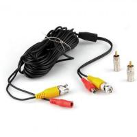 Quality 10M 33FT Video DC Power Security Surveillance BNC RCA Cable for CCTV Camera DVR Model 1 wholesale