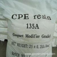 Quality Chemical industry grade chlorinated polyethylene chemical cpe 135 for sale wholesale