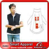 Quality Apparel Fashion Waistcoat For Men Design with electric heating system heated clothing warm OUBOHK wholesale