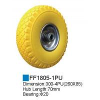 Rubber wheel/PU Foam Wheel FF1805-1PU