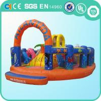 Quality mini inflatable fun city wholesale