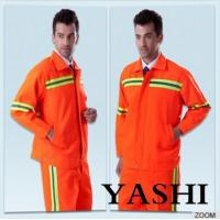 Quality Uniform Hot Sell New Design Orange Safety Worksuit wholesale
