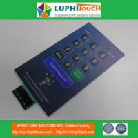 Quality Door Entery Safety Lock Digital Printing Membrane Switch wholesale