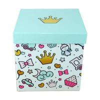Free Design Luxury Colorful Baby Shower Gift Box