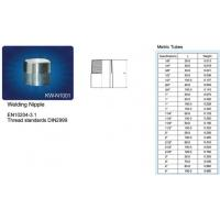 Quality STAIALESS STEEL PIPE FITTINGS Welding Nipple wholesale