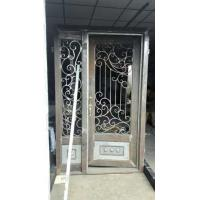Quality Wrought iron entrance door wholesale
